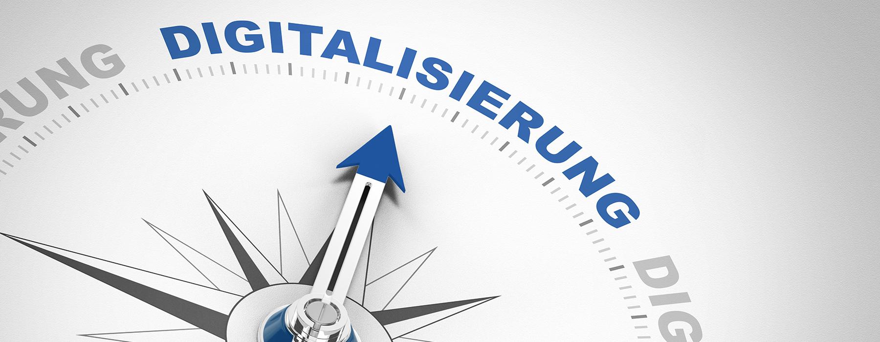 Digitalisierung bei uns: Auftragswesen online, Unternehmen online und ersetzendes Scannen
